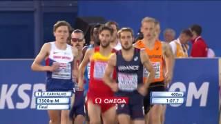 EM 2016 - Fillip Ingebritsen vinner 1500m og Henrik Ingebritsen tar bronsen