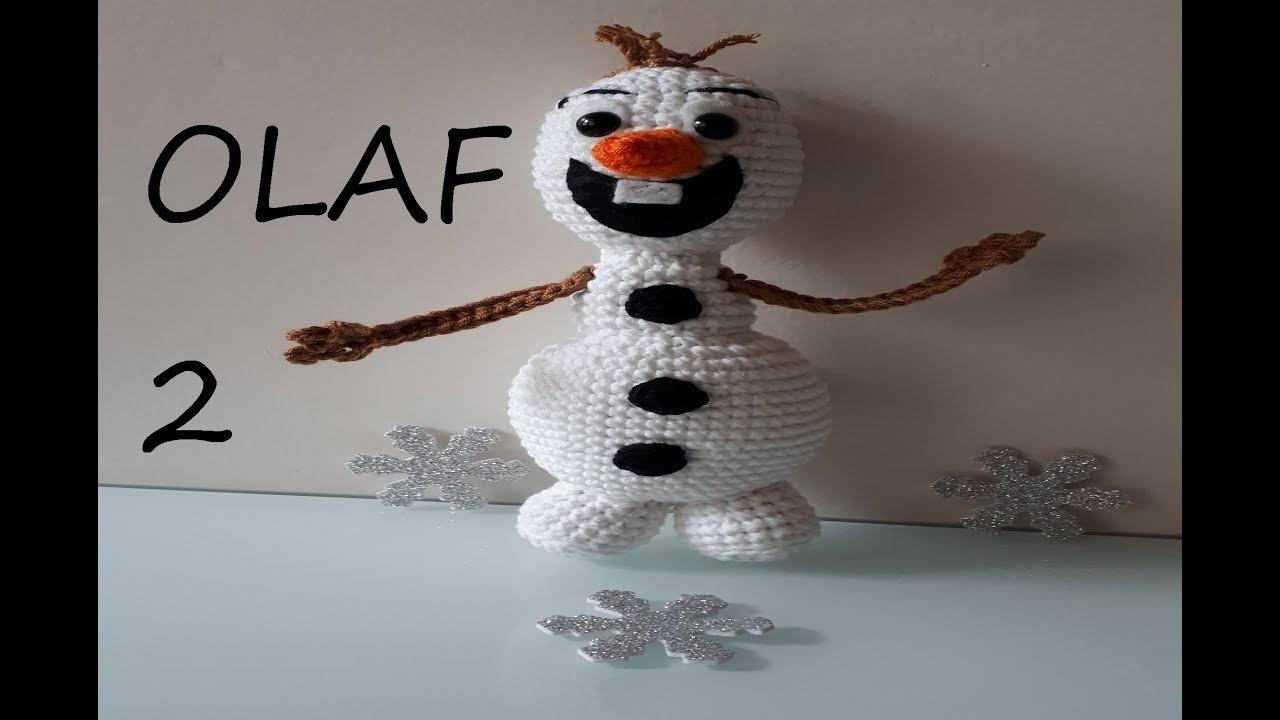 AMİGURUMİ OLAF(Karlar ülkesi) 2.  bölüm
