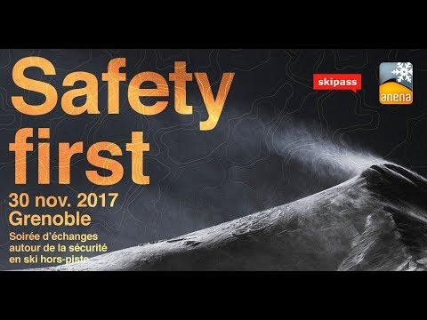 [Replay complet] Safety First 2017 : soirée de prévention avalanche
