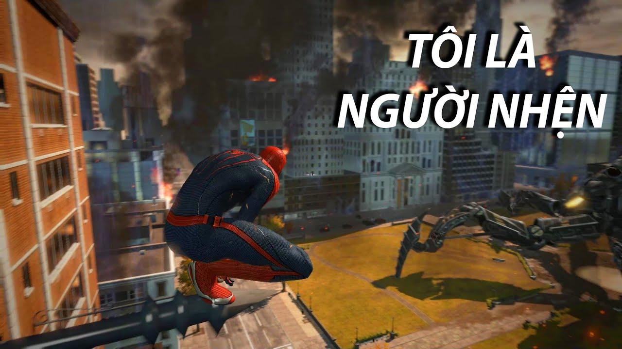 Tôi là NGƯỜI NHỆN [ The amazing spiderman ]