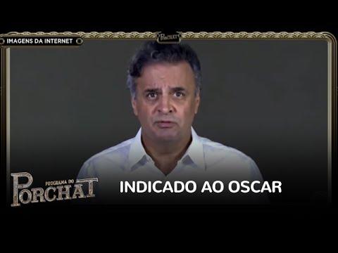 Aécio Neves concorre ao Oscar como melhor ator após declarar inocência