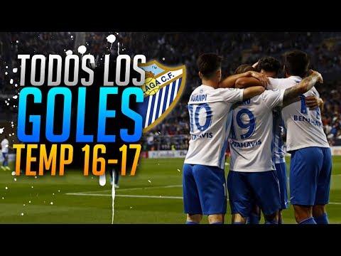 Goles del Málaga CF | Temporada 2016-2017