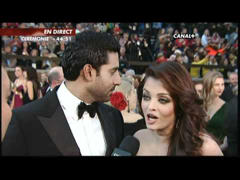 EXCLUSIVE: Aishwarya Rai And Abhishek Bachchan At The Oscar 2011