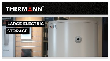 Thermann Large Electric Storage Hot Water System – HOW IT WORKS