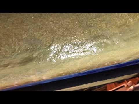 Fiberglass boat hull repair 9