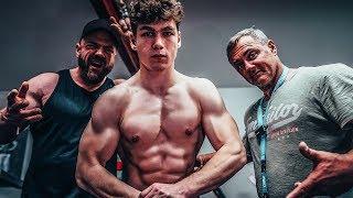In welcher Bodybuilding Klasse startet Marc?! Formcheck