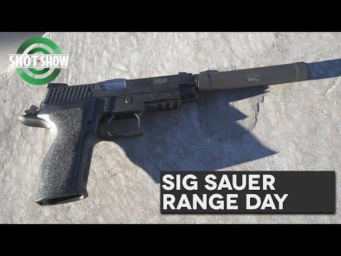 Sig Sauer Range Day - SHOT Show 2017!