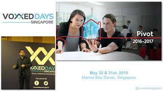 Opening Keynote: Hari V Krishnan (CEO of PropertyGuru Group) - Voxxed Days Singapore 2019