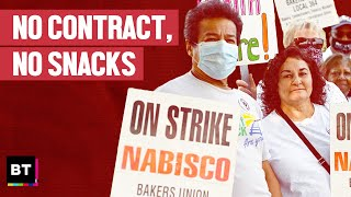 No Contract, No Snacks: Nabisco Workers on Strike