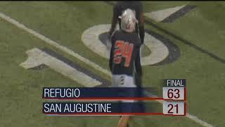 Football Highlights - Refugio vs. San Augustine