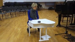 Kalimba for toy piano & playback, performed by Xenia Pestova