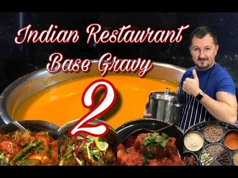 Indian Restaurant Base Gravy 2 Full Tutorial And Method Al S Kitchen