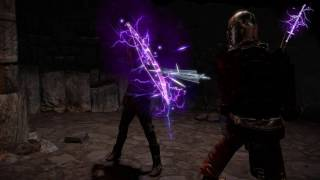 Path of Exile: Purple Lightning Weapon