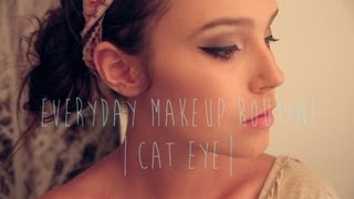 Everyday Cat Eye Makeup tutorial | AuDeCouture Thumbnail