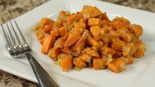 Easy Sweet Potato Hash by Rockin Robin