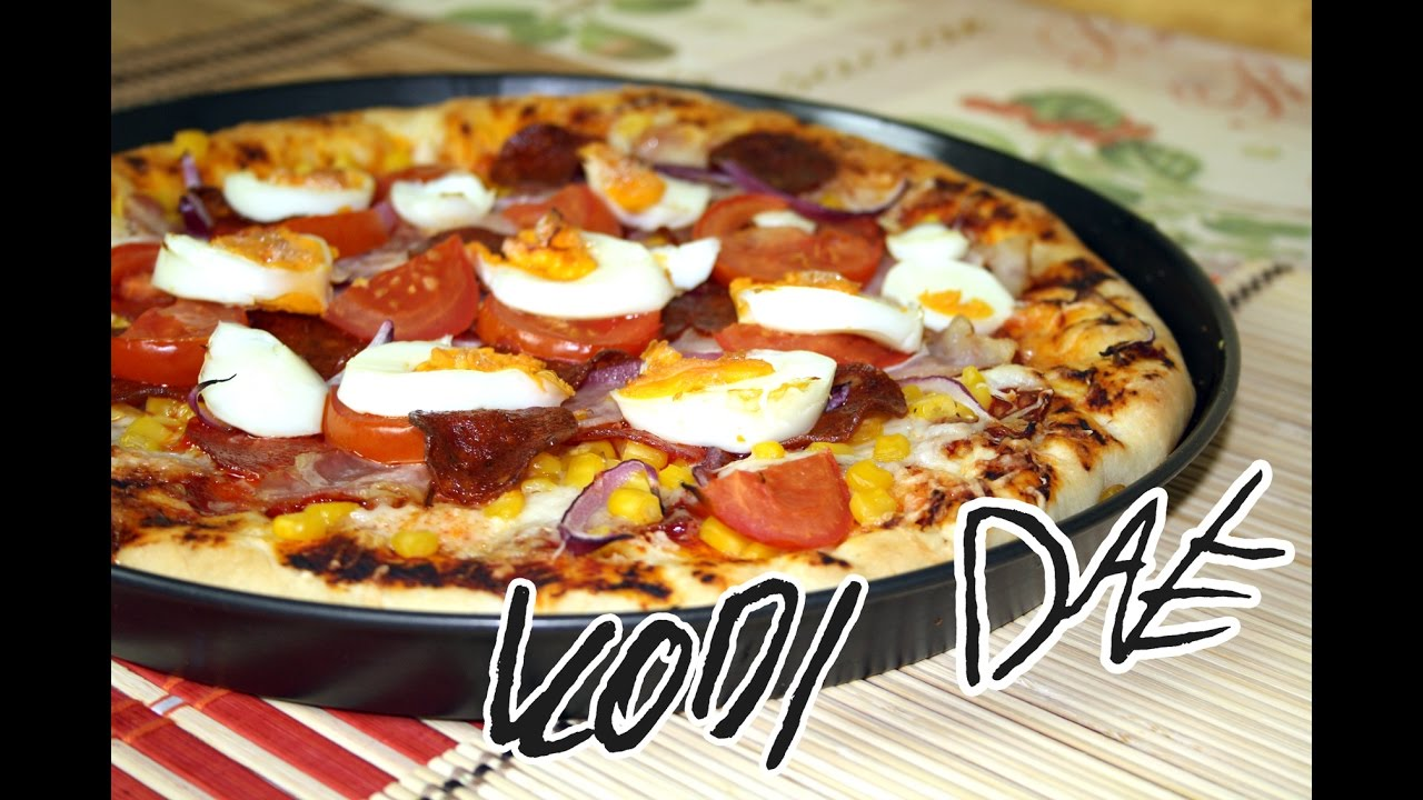 Hungarian style pizza KD - KD Pizza - YouTube