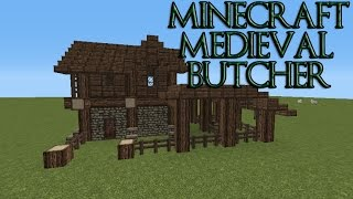 Medieval Minecraft Butcher Shop