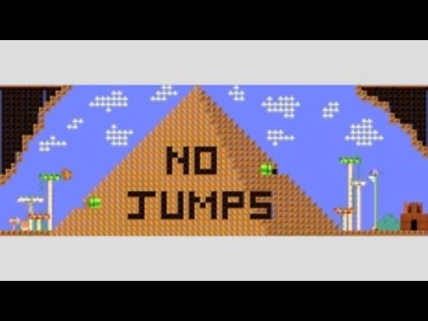 Captain Toad Pyramid - NO JUMPS! by Dynaglitch - SUPER MARIO MAKER - NO COMMENTARY