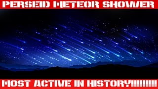 NASA Detects Supersize Meteor Shower | Perseid 2016