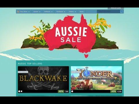 + Aussie - Australia Steam Sale + Best Deals + Let's Check Together! +