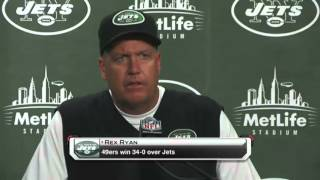 Rex Ryan: We got our ass kicked.