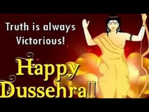 Happy dussehra wishes 2016 vijayadashami greetings dussehra happy dussehra wishes 2016 vijayadashami greetings dussehra whatsapp video message 5 youtube m4hsunfo