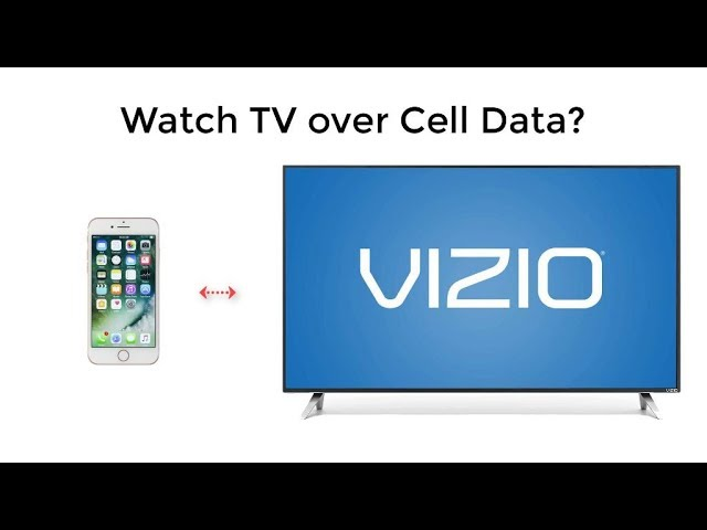 Connect Iphone To Tv And Stream With, How To Screen Mirror Android Vizio Tv Without Wifi