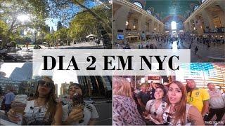 VLOG: Dia 2 NYC: Grand Central, Lojas legais, Times Square | Cabide Colorido