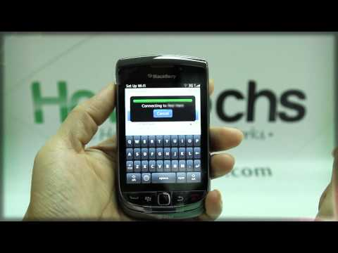 How to Set Up Wifi on BlackBerry Torch 9800