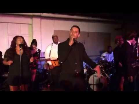 "Jon Huertas Singing ""Champion"" At ""American Dreamers"" Fundraising, LA 3/22/14"