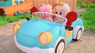 Em tập lái ô tô, Bo bí bo bo bo em lái xe ô tô - Nhạc thiếu nhi vui nhộn sôi động