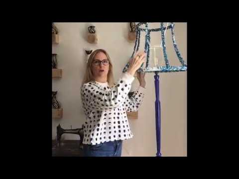 How To Make A Crochet Lampshade An Easy Diy Tutorial From Lazy