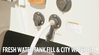Apollo RV USA Demo Video – Winnebago: Fresh Water Tank Fill & City Water Fill
