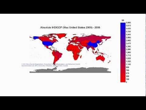Absolute IHDIGDP (Max United States 2009)