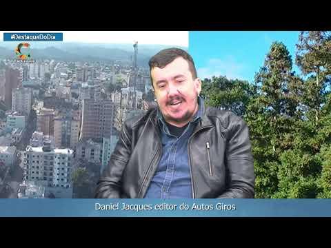 Daniel Jacques editor do Autos Giros