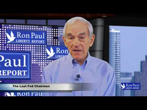 Weekly Update --- The Last Fed Chairman?