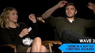 chloe moretz the 5th wave cast plays lose da lyrics game