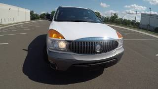 4K Review  2002 Buick Rendezvous CX Virtual Test-Drive & Walk-around