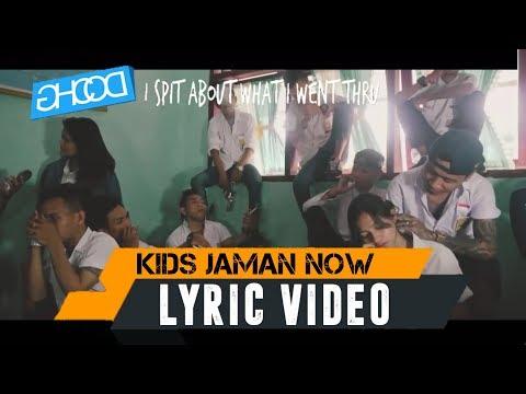 ECKO SHOW - KIDS JAMAN NOW ( Official Lyrics Video )