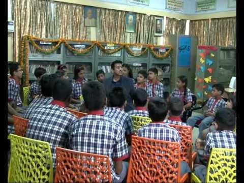 MoS Rajyavardhan Rathore Visited School In Delhi Cantt