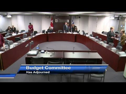 Budget Committee - December 15, 2017