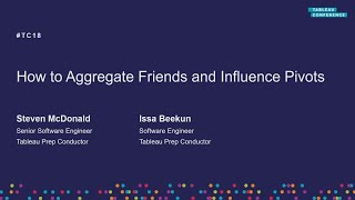 How to aggregate friends and influence pivots