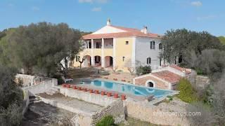 Gran finca rustica con casa de época en Menorca