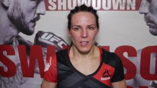 Alexis Davis discusses unorthodox opponent and criticism following UFC Fight Night 108 win