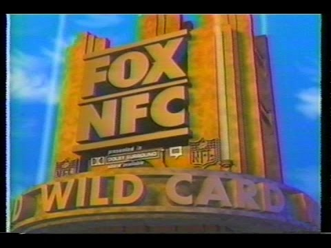 NFL on FOX - 1996 Eagles vs 49ers - NFC Wild Card Playoff