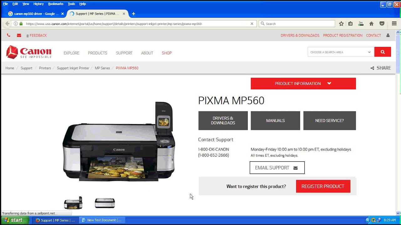Download) canon mp560 driver download.