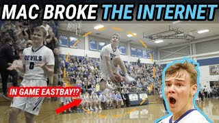 Mac McClung Goes BETWEEN THE LEGS & JORDAN SHRUGS!! Most Epic HS Dunker EVER 🔥
