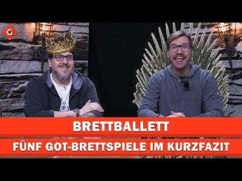 Fünf Brettspiele Im Kurzfazit - Game Of Thrones Special | Brettballett