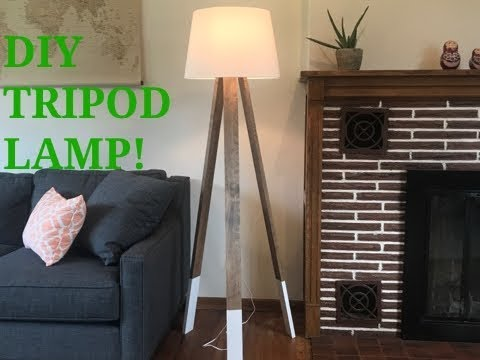 DIY Tripod Lamp!