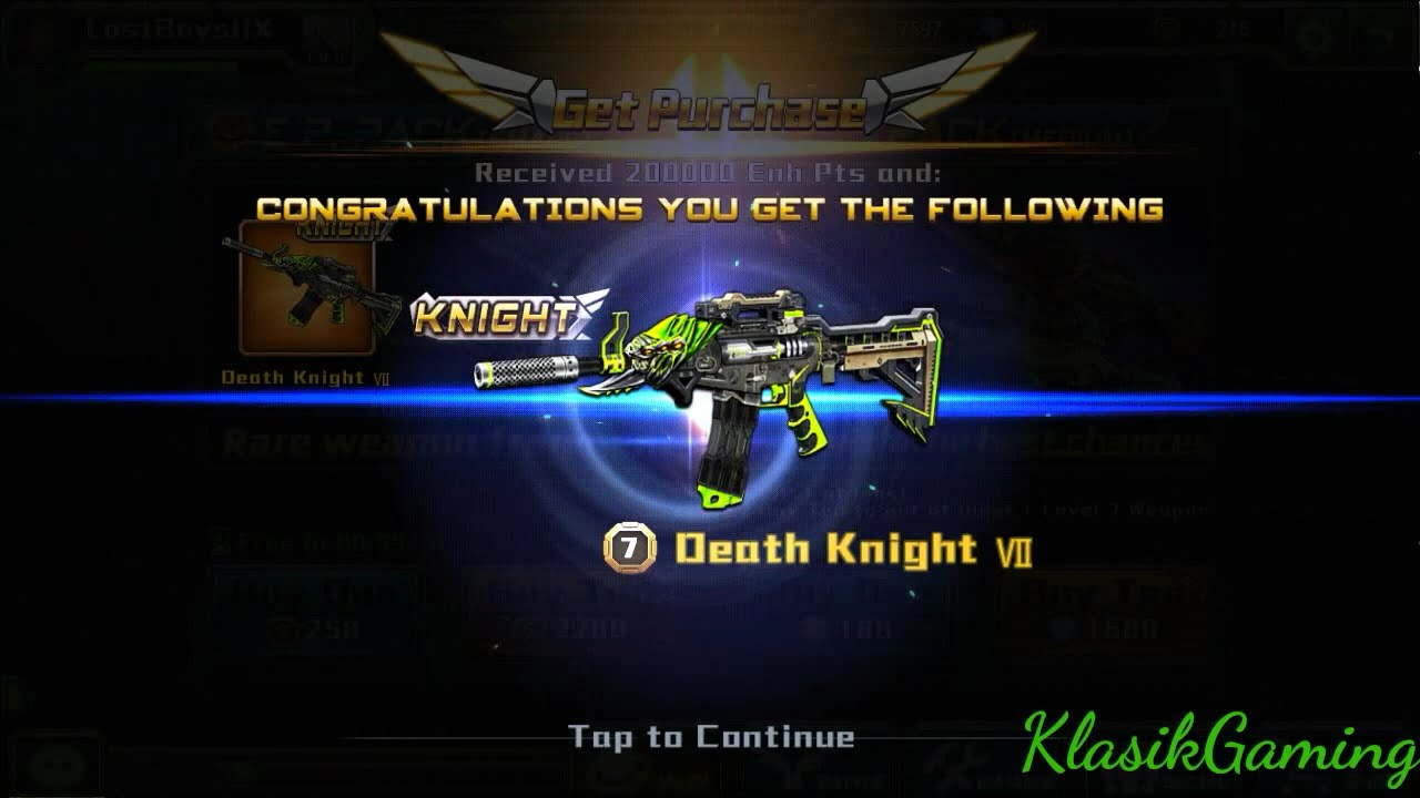 Crisis action SEA - Flash knight on new map XMAS | crazy sniper ...
